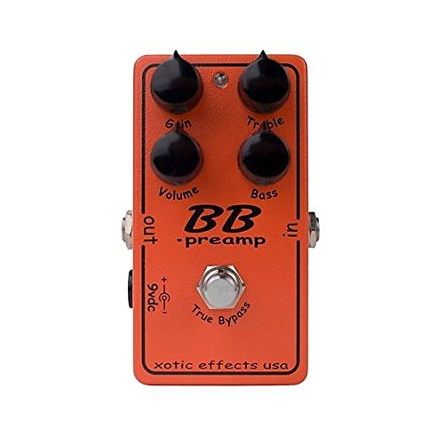 Xotic BB Preamp · Pedal guitarra eléctrica