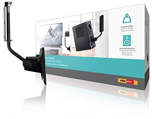 Lautsprecherhalter vollbeweglich 11.3 kg Schwarz, Enhance your audio system with OmniMounts (973977015306) Omnimount Systems Home Audio