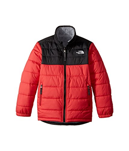 The North Face Boy's Reversible Mount Chimborazo Jacket - TNF Red - S North Face Mount