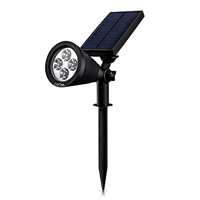2-in-1 Upgraded Solar-Powered Spotlight