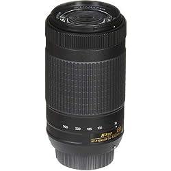 JAA829DA AF-P DX 70-300 mm f/4.5-6.3G Ed VR Objectif - Noir - Angle de Vue est 22°50'-5°20'
