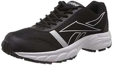 Reebok Men's Black and Silver Mesh Running Shoes (M44259) - 9 UK