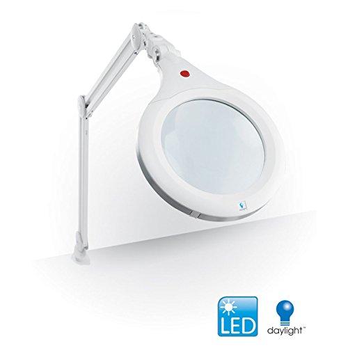 Daylight E25080 | Lampe Loupe à LED UltraSlim XR