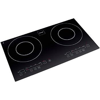 Brandt ti 342 table induction deux foyers 2000 w noir - Plaque induction deux feux ...