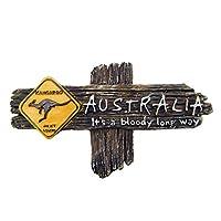 3D Australian Kangaroo Refrigerator Magnets Fridge Magnets Creative Home Decoration Tourist Souvenir Crafts
