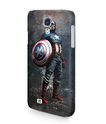 Captain America The Avengers Shield Superhero Plastic Snap-On Case Cover Shell For Samsung Galaxy S4