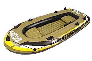 Jilong Fishman 350 set, Gommone, 305x136x42cm, Verde