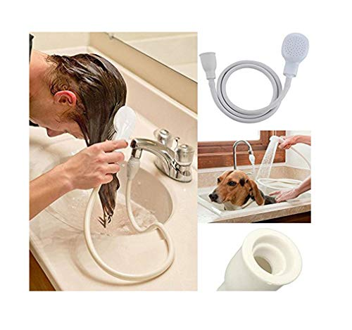 Glanz einzigen Dusche Spray Schlauch Badewanne Waschbecken Spray Wasserhahn Aufsatz Waschen Innen PVC - Shine Waschen