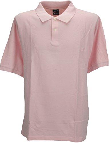 Perfect Collection Herren Poloshirt rosa blassrosa Gr. XXL, blassrosa (Pique Short Sleeve Rugby)
