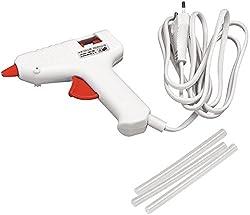 RAYHER Mini-Heißklebepistole Niedrigtemperatur, Weiß, 11x11cm
