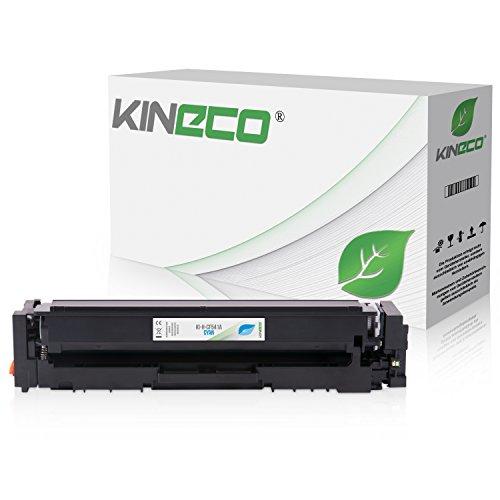 Preisvergleich Produktbild Kineco Toner kompatibel zu HP CF-541A für Color Laserjet Pro M-254nw M-254dw MFP M-280nw M-281fdn M-281fdw - 203A Cyan 1.300 Seiten