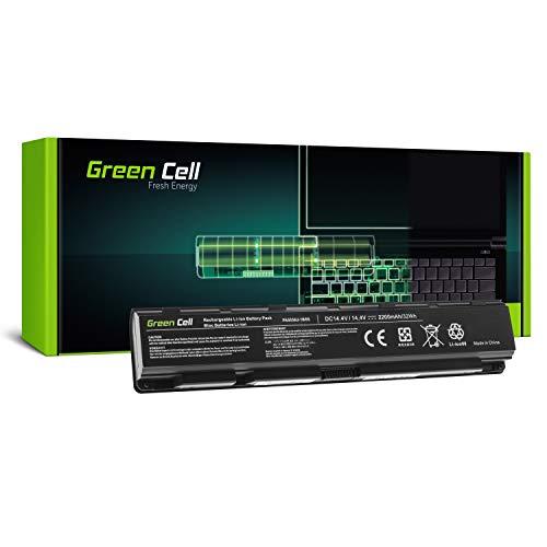 GC® Laptop Akku für Toshiba Qosmio X70-A-11Q X70-A-11R X70-A-11W X70-A-11Z X70-A-120 (2200mAh 14.4V Schwarz) -