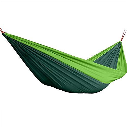 Anas Hamacas para Acampar Hamacas portátiles de Doble árbol - Accesorios de Playa para Interiores y al Aire Libre - Mochilero Equipo de Viaje (Size : S)