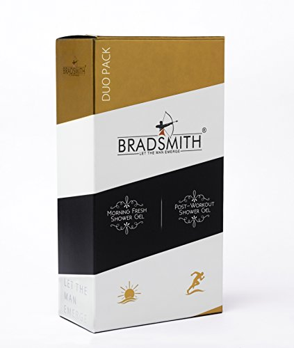 Bradsmith Shower Gels (Duo Pack) , 200ml x 2