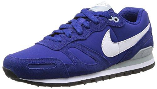 Nike Blanco Negro Correr Multicolor Zapatos Galleta Hombre Para Aire azul De Slvr El ZvrR7qZ