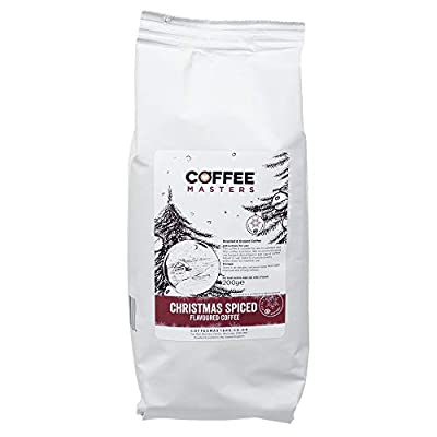 Coffee Masters Christmas Spiced Ground Coffee 200g - Christmas Edition Cafetiere Coffee by Coffee Masters