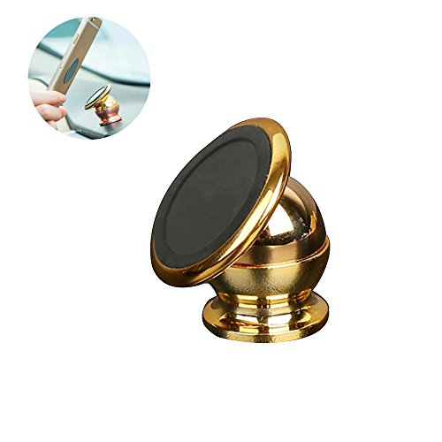 Mehios Hot Cool Magnetic Mobile Phone Holder 360 Degree GPS Universal Car Phone Holder For IPhone Samsung Magnet Mount Holder Stand Mini Magnetic Cell