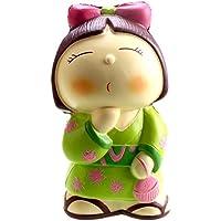 VLAMPO Squishy Slow Rising Stress Giocattoli Squishies Soft Toys Profumo Giapponese Ragazza 5.7 '' (verde)
