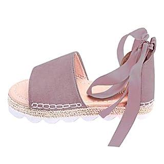 Minetom Damen Sandalen Süßigkeitsfarbe Flache Badesandale Schuhe Flip-Flops Sommer Bequeme Frauen Übergröße Offene Casual Violett EU 40