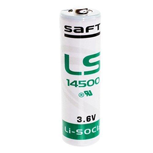 10 x Saft LS14500 AA Lithium Batterie (3,6 V, Li-SOCl2) 2600mAh LS 14500 (10er Set)