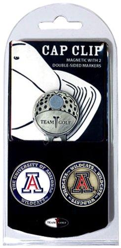 NCAA Gap Clip mit 2Golf Ball Marker, Herren unisex damen, Arizona Wildcats (Golf Herren Arizona)