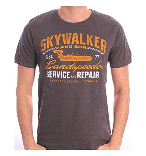 Star Wars Landspeeder Repair T-Shirt grau XL