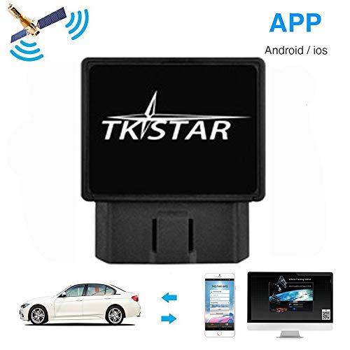 Localizador Tracker GPS GSM GPRS para Vehículos Coche Moto Control Remoto Localizador...