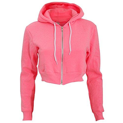 american-apparel-felpa-corta-in-vita-donna-s-rosa-neon