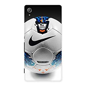 Delighted Soccer Multicolor Back Case Cover for Xperia Z4