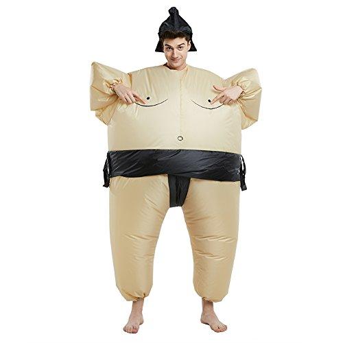 Imagen de dimmins disfraz inflable para adultos disfraz de montar llévame inflable disfraz elegante sumo  alternativa