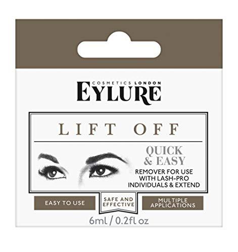 Eylure Lift Off Wimpernentferner Lashes Remover, 1er Pack (1 x 6 ml) (Rote Falsche Wimpern)