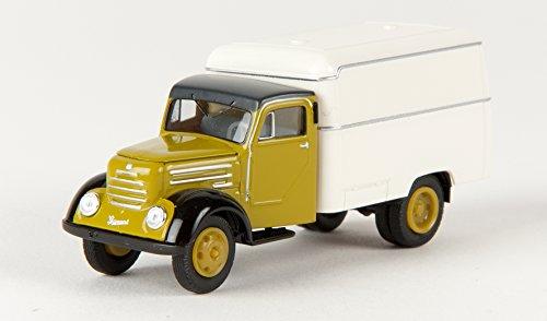 Preisvergleich Produktbild Robur Garant, grün/weiss, Modellauto, Fertigmodell, Brekina 1:87