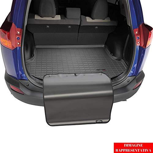 Preisvergleich Produktbild WeatherTech Kofferraumwanne +Stoßstangenschutz passend für Ford Focus 3.Gen Fließheck Sony Audio System 2012-18 Schwarz CargoLiner