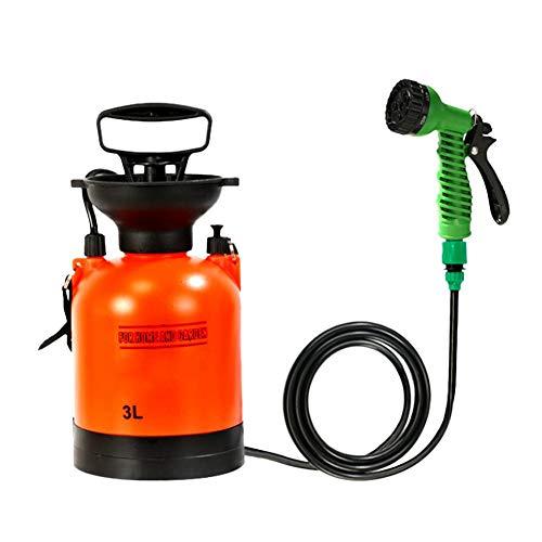BeneU Gartensprüher-Drucksprüher 3L-Pump-Aktion, ideal für Unkrautvernichter, Pestizide, Herbizide, Insektizide, Fungizide Wasserpumpensprüher Rucksack Knapsack Pressure Crop Garden Weed Sprayer