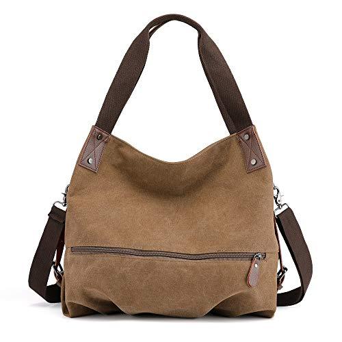 Roxy Canvas Tote (Bfmyxgs Mother es Day Women es Canvas New Vintage Shopper Shoulder Bag Tote Bag Bucket Bag Totes Backpack Shoulder Bag Handtasche Totes Waist Bag Bag. Brustpaket)