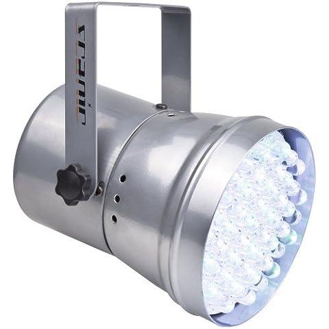 Power Lightning Par 36 RGB LED 1/4 W Argent