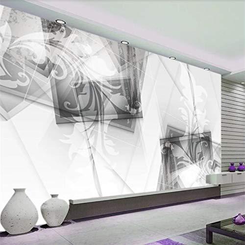 Papier peint personnalisé 3D mural européen abstrait rétro...