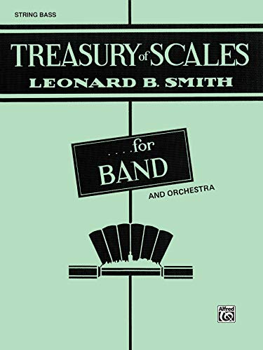 Treasury of Scales for Band and Orchestra: String Bass