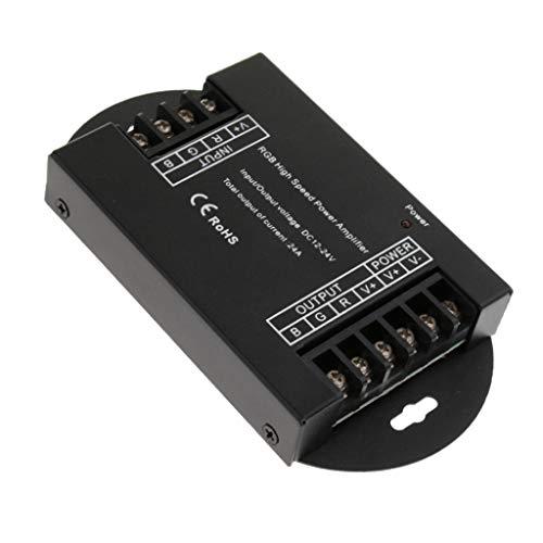Sharplace Amplificadores Potencia LED de Tensión Trabajo DC12-24V Alta Velocidad