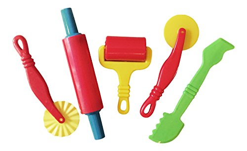 set-of-5-dough-tools-including-wide-rolling-pin-suppled-by-kids-b-crafty