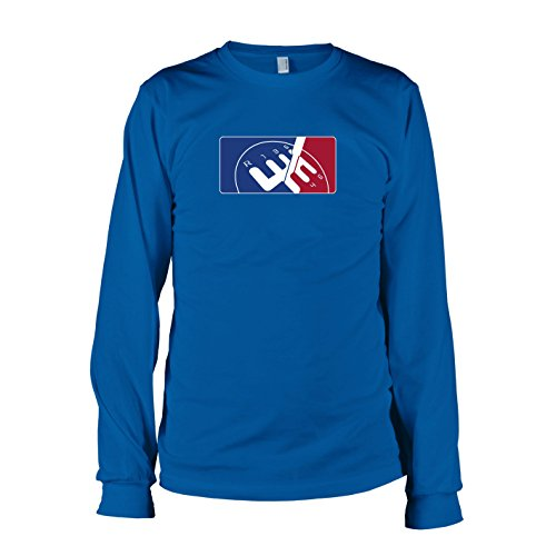 TEXLAB - Shifting League - Langarm T-Shirt Marine