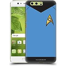 Ufficiale Star Trek Scienze Uniformi E Stemmi TOS Cover Retro Rigida per Huawei P10 Plus