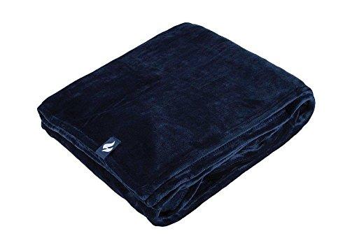 1NO. Wärme Inhaber Snuggle UPS Thermo Winter Warm Luxus Weich Fleece, 1,7Tog Decke/Überwurf eine Größe-nicht elektrisch Gr. Einheitsgröße, navy -