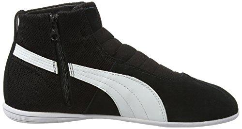 Puma Eskiva Mid Textured, Baskets Basses femme Noir (Black)