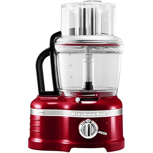 KitchenAid 5KFP1644ECA - Robot de cocina, color rojo