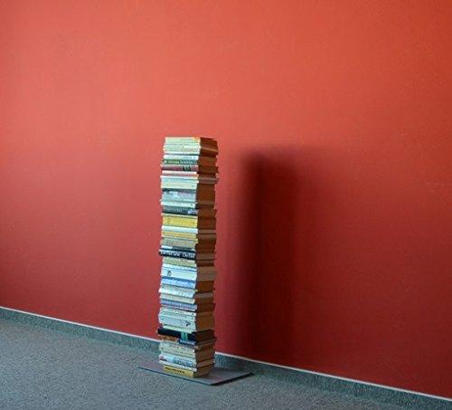 Booksbaum Bücherregal Stand 2 klein - silber