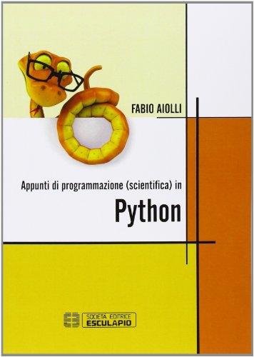 Appunti di programmazione scientifica in Python