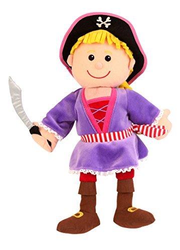 Fiesta Crafts Girl Pirate Hand Puppet by Fiesta