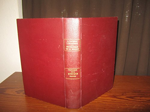 encyclopédie de la musique / 1ère partie (histoire de la musique tome 5) russie-pologne-finlande-scandinavie-suisse........