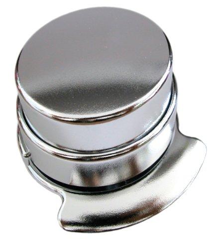 Wedo 127154 - Klammerloses Heftgerät (Kunststoff) verchromt - 2